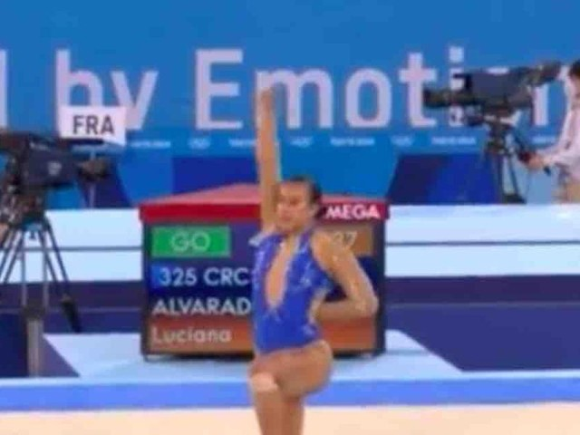 Leftists shower praise upon gymnast for Black Lives Matter tribute at end of her floor routine at Olympics