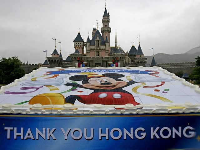 Hong Kong's Disneyland is letting the government use some of its land to quarantine people and stop the coronavirus spreading