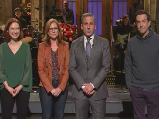 'Saturday Night Live' Stages Mini 'Office' Reunion (Watch)