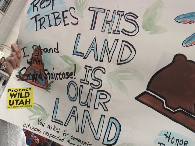 Native American tribes sue Trump over Bears Ears National Monument