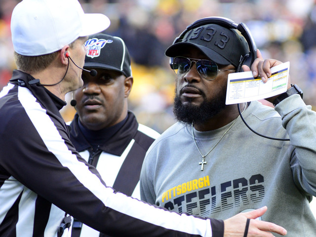 Give me Mike Tomlin as NFL Coach of the Year