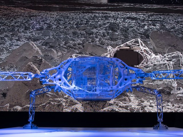 AI software helped NASA dream up this spider-like interplanetary lander