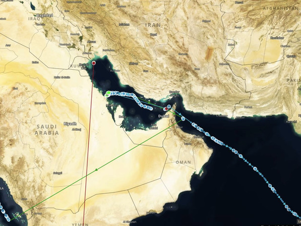 As Tensions Flare Between US & Iran, More Oil Tankers Are 'Going Dark' In The Strait Of Hormuz