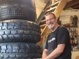 Batman's Tumbler Begins. Dave Taylor Creating Life Size Version #BatmanDay #LongLiveTheBat