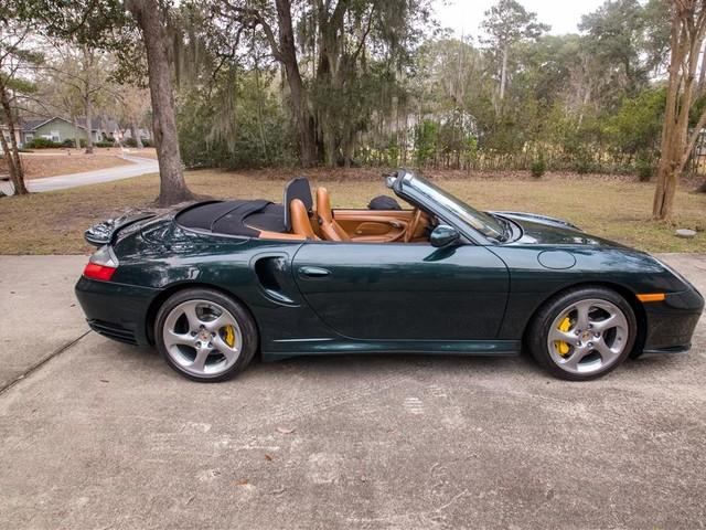 2005 Porsche 911--Turbo--S--Cabriolet