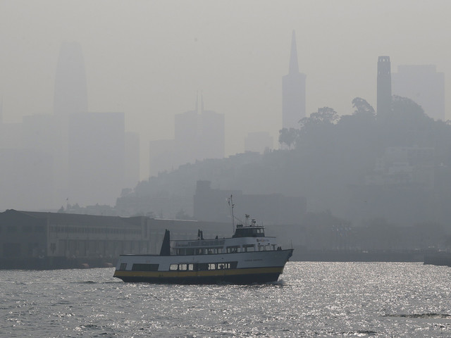 Northern California now has world's worst air quality