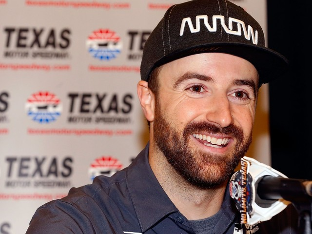This ride-along video from James Hinchcliffe's race car is exhilarating