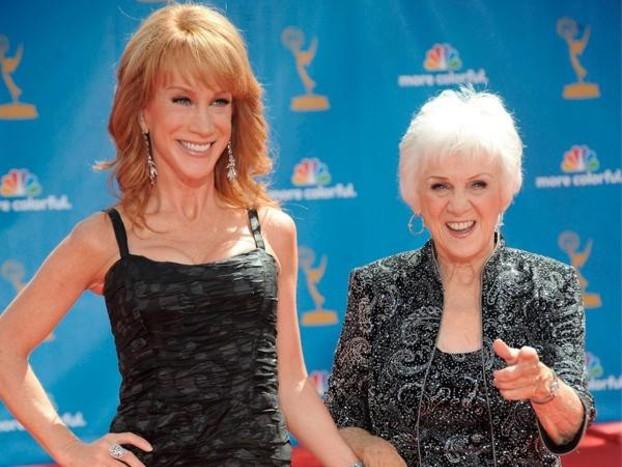 "Kathy Griffin Reveals Her Beloved Mother Has ""Rapidly Fallen"" Into Dementia"