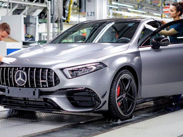 This Is Where Mercedes-AMG Makes The New A45 And CLA 45