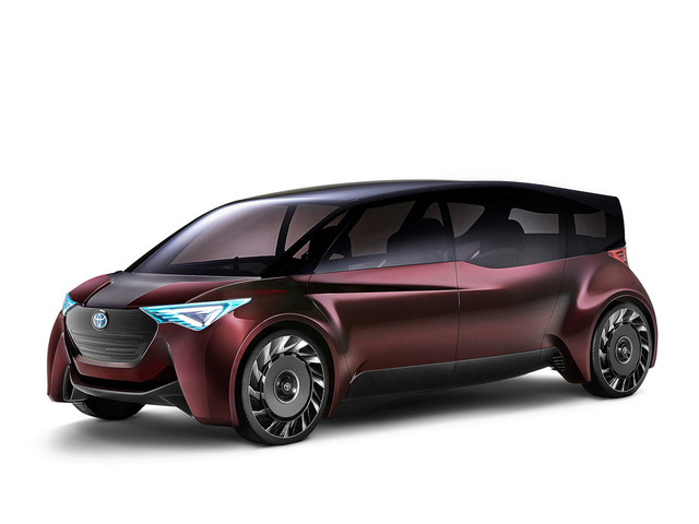 """Toyota """"Fine-Comfort Ride"""" concept vehicle is a hydrogen-powered EV"""