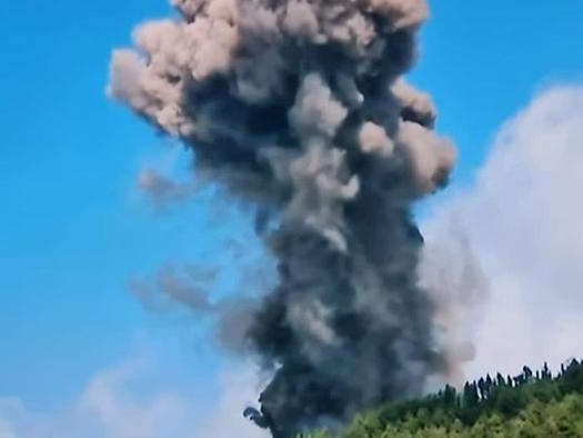 Volcano Erupts On Spain's Canary Islands Following Earthquake Swarm