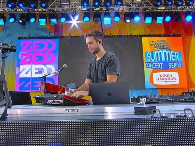WATCH: Zedd wows the Central Park crowd with his hit 'Adrenaline'