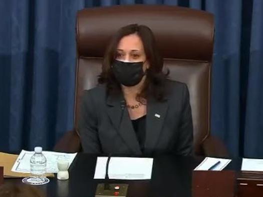 Senate Dems Push Through $1.9TN Stimulus Blueprint As Harris Casts First Tiebreaker