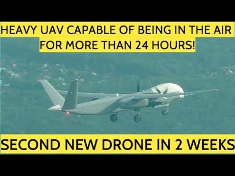 New Video Emerges Of 6-Ton Russian Drone That Can Stay Aloft For 24-Hours
