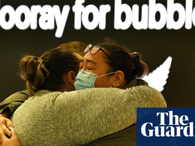 Love in a travel bubble: Australia and New Zealand embrace quarantine-free flights – in pictures