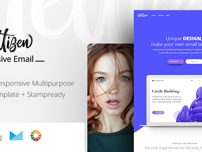 Mail - Responsive Email + StampReady Builder (Email Templates)