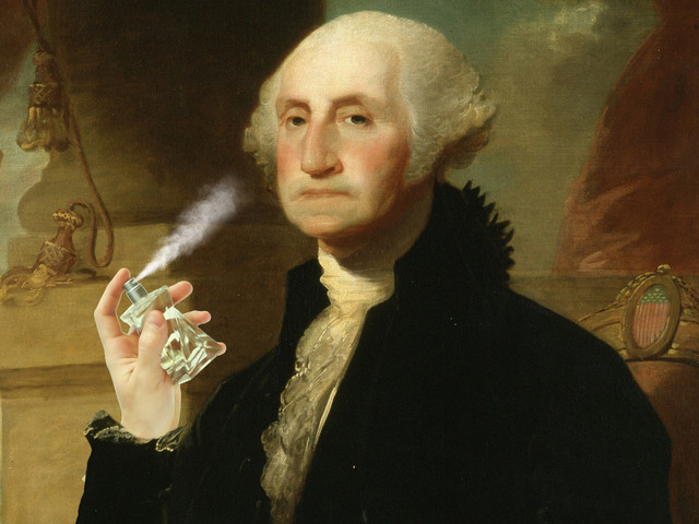 You can still buy George Washington's favorite cologne at Caswell-Massey