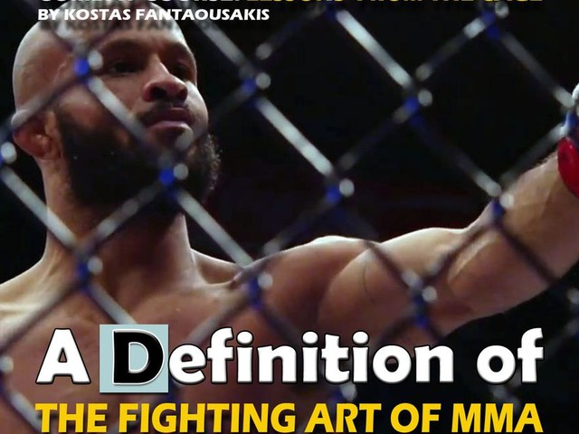 The fighting art of MMA, defined
