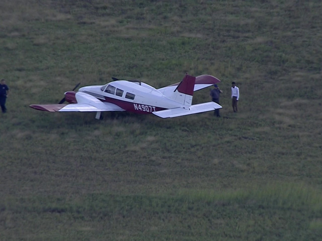 Small Plane Runs Off Runway After Landing At North Perry Airport