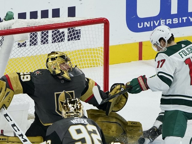 Balanced scoring continues to fuel Wild even in OT loss to Golden Knights