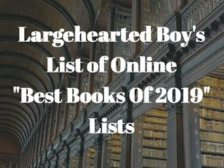 """Best Books of 2019"" Lists Update - December 3rd"