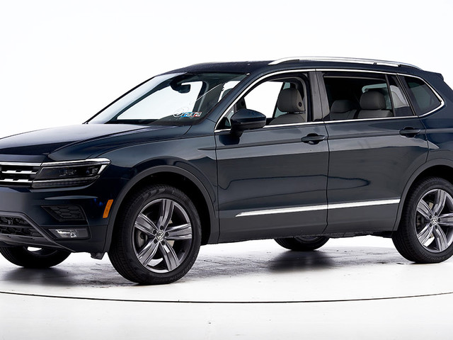 Volkswagen SUV earns Top Safety Pick +