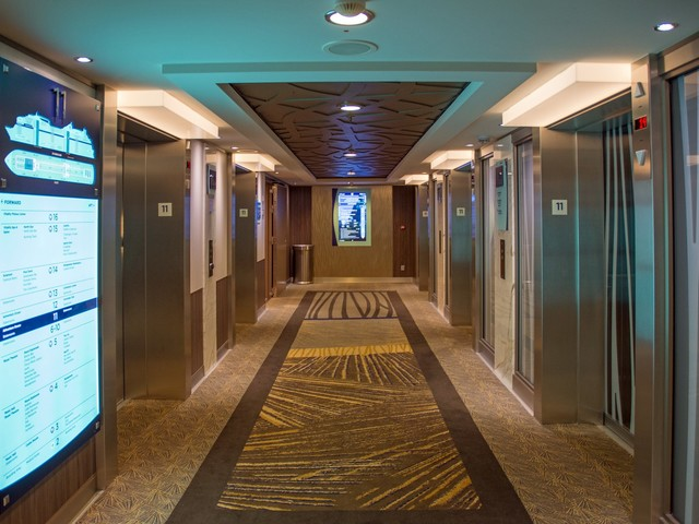 Why you should skip the elevator on your cruise