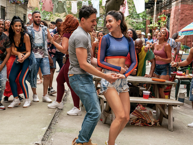 You can watch the first 8 minutes of 'In The Heights' right now