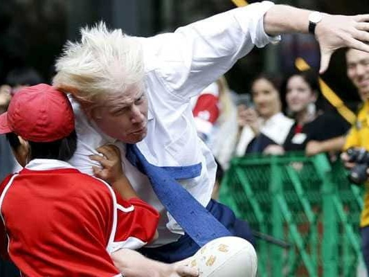 Zip-Wire Episode, Wild Rugby Tackles: The Comedic Face Of Boris Johnson