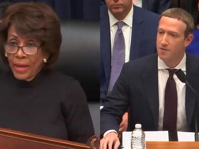 Maxine Waters rips into Zuckerberg during Libra hearing