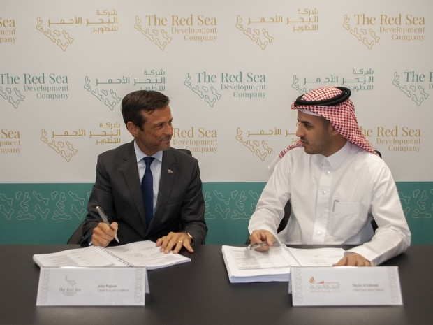 News: Red Sea Development Company begins construction of coastal village