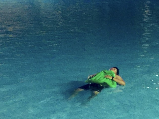 Drunk man finds no space on bed to sleep, knocks out in pool for 7 hours instead