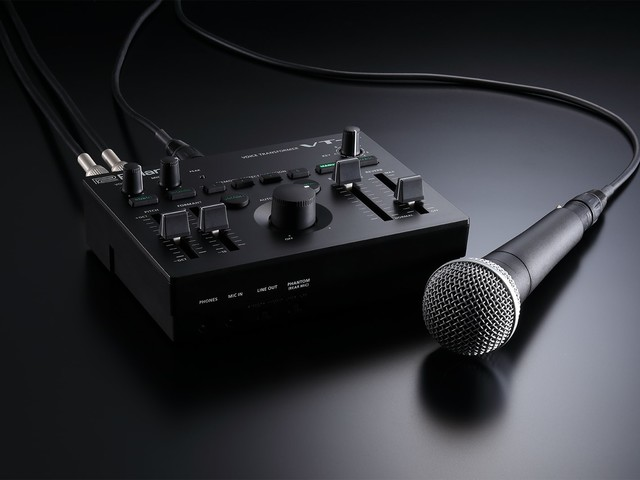 Roland VT-4 adds MIDI, control for performer-friendly vocal FX