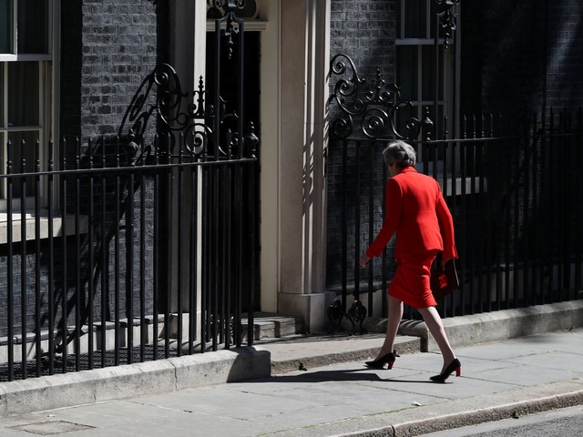 'A matter of deep regret': Read Theresa May's resignation speech in full