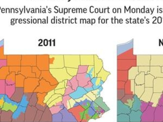 GOP leaders request hold on Pennsylvania congressional map