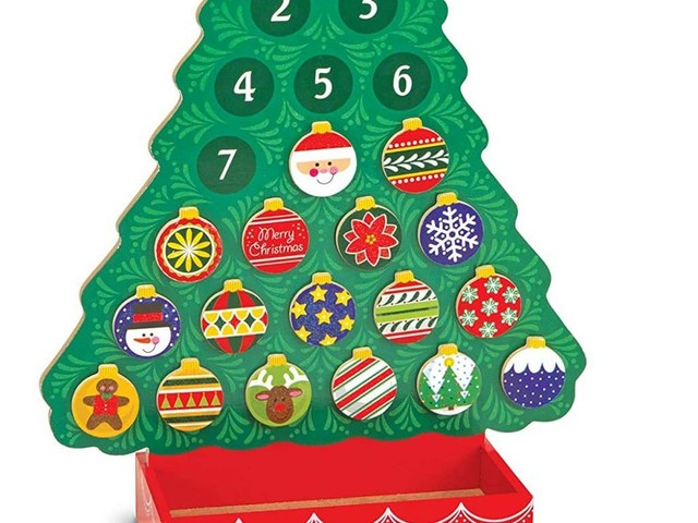 Amazon Deal: 25% Off Christmas Wooden Advent Calendar