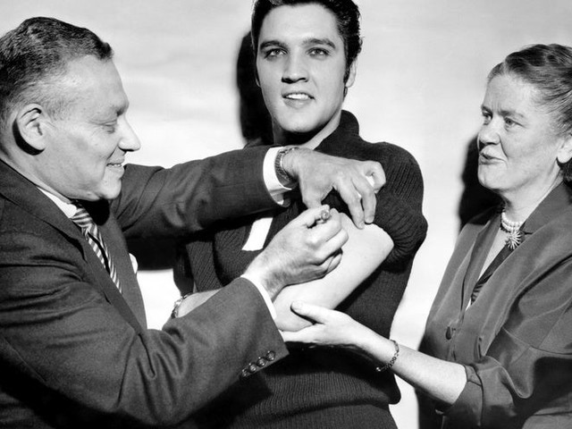 Elvis Presley Gets the Polio Vaccine on The Ed Sullivan Show, Persuading Millions to Get Vaccinated (1956)