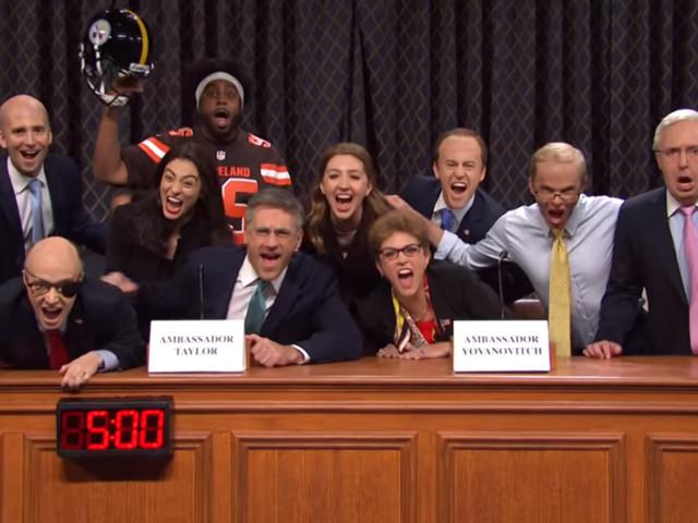'SNL' turns impeachment into the soap opera it's always been (with Jon Hamm)