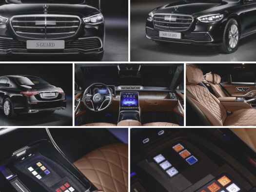 Mercedes-Benz Unveils Armored S-Class Can Withstand AK-47 Bullets