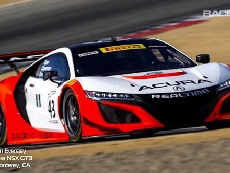 Take A Ride Around Laguna Seca In An Acura NSX GT3 Race Car: Video