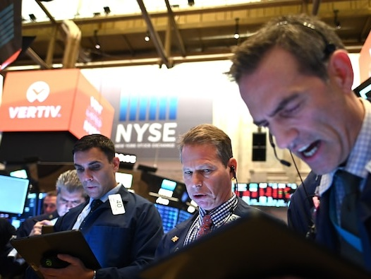 US stocks slip as weak Amazon sales outlook highlights growth challenges for tech giants
