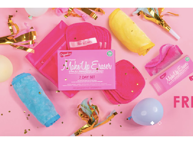 $8 Off Your MakeUp Eraser Order + FREE Mini Eraser
