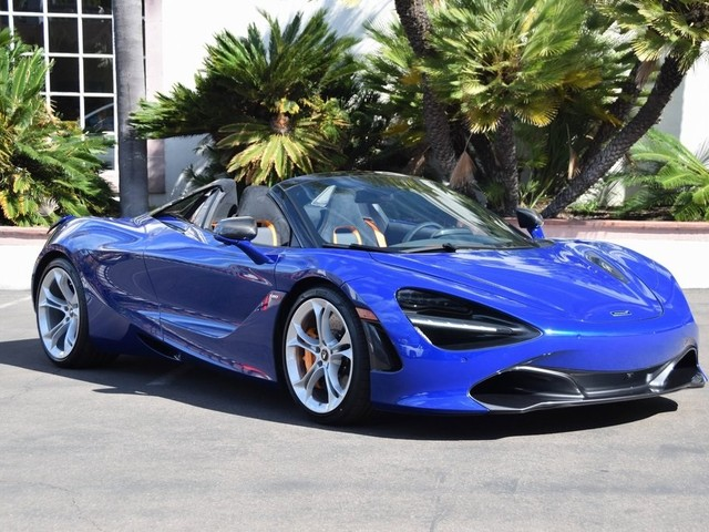2020 McLaren 720S--Spider