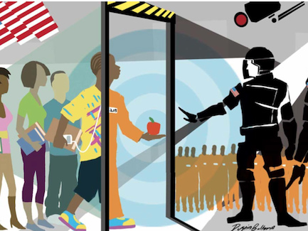 Compliance 101: Gun-Toting Cops Endanger Students And Turn Schools Into Prisons