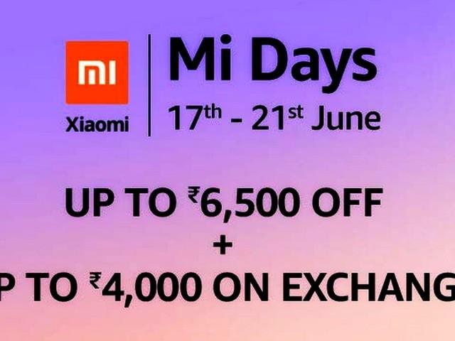 Amazon Mi Days Sale, Mi Super Sale Kick Off: Here Are the Best Offers