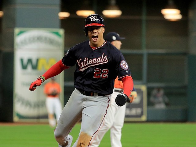 Juan Soto was the breakout star of the MLB playoffs