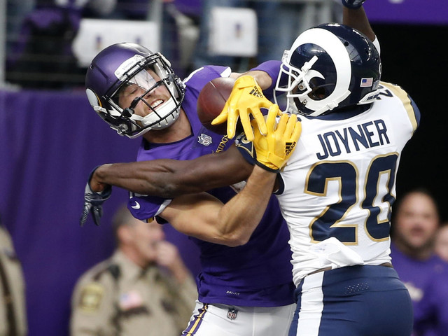 Rams injuries might mean Lamarcus Joyner becomes more than safety valve against Saints