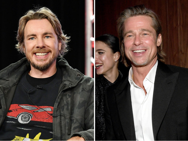 Dax Shepard details date with 'love of my life' Brad Pitt