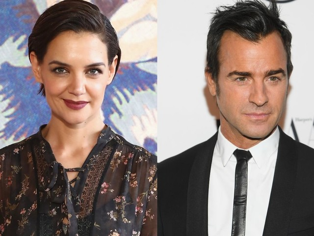 Katie Holmes, Justin Theroux Going On Secret Dates?