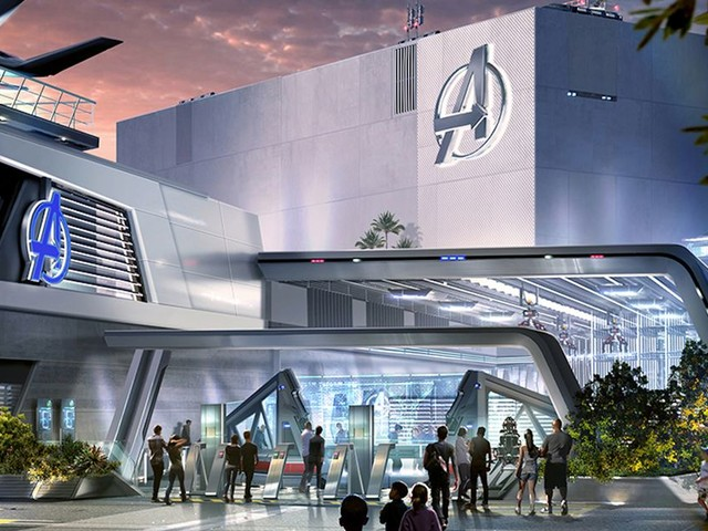 Disney's Avengers Campus attractions will include Spidey ride and Wakanda visit